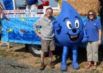 Wayne Drop with the District General Manager and Water Conservation Specialist